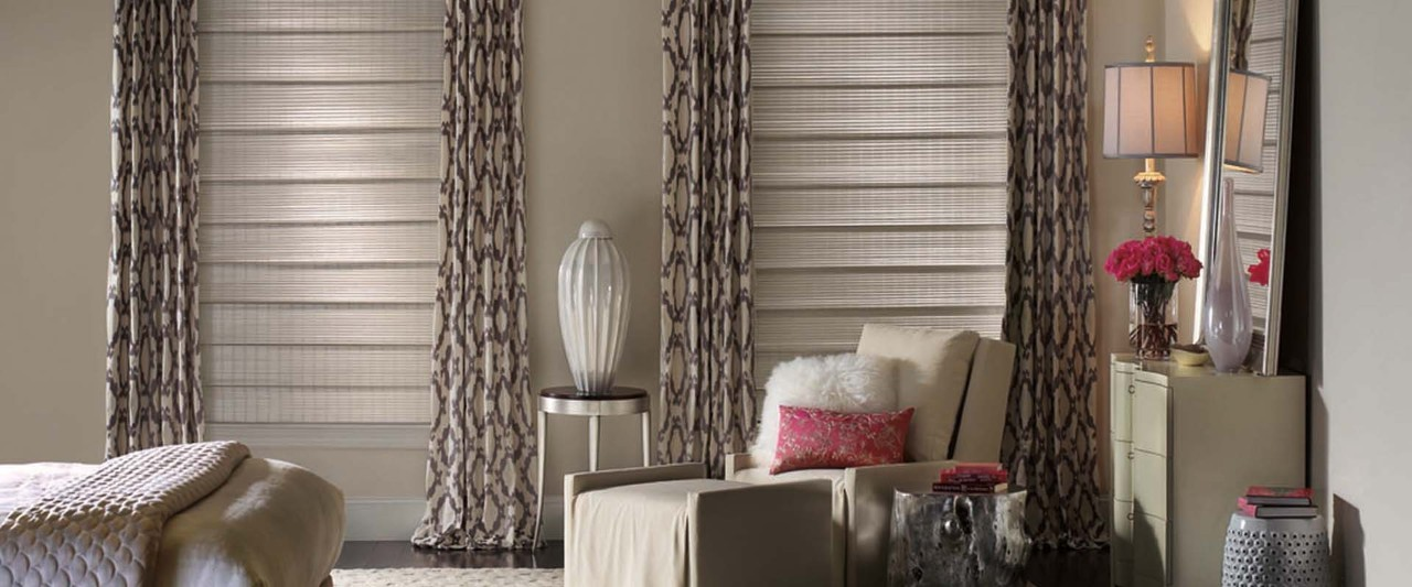 Custom Draperies and Roman Shades